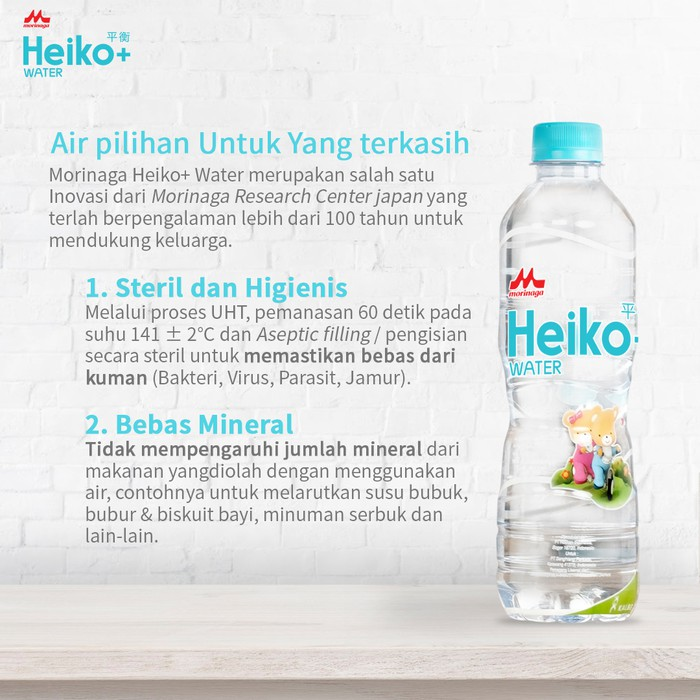Air Bebas Mineral Heiko Water