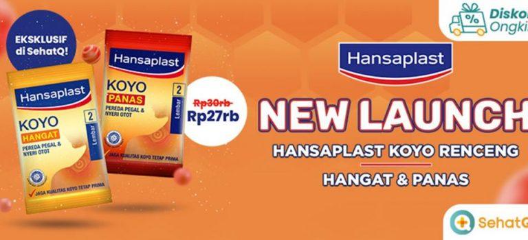 Produk Hansaplast bisa dibeli dari Toko SehatQ